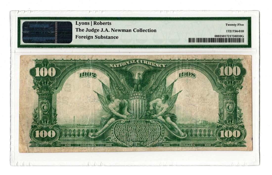 1902 $100 Clarksville National Bank, TN National B - 2
