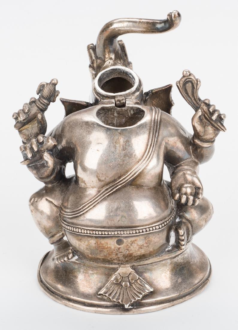 Ancient Chinese Bronze Figure; Tibetan Silver - 6