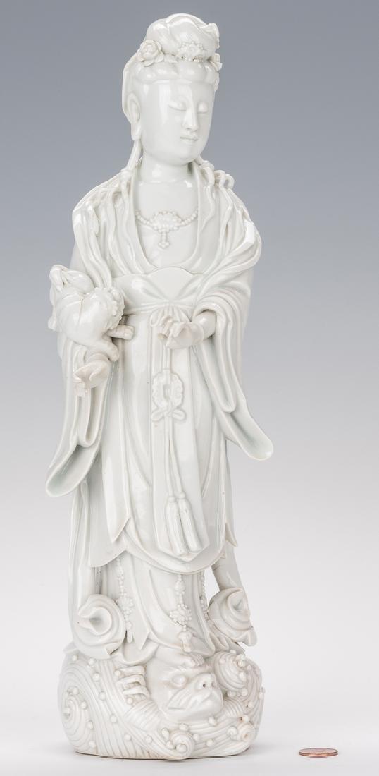 Blanc de Chine Porcelain Quan Yin Figure