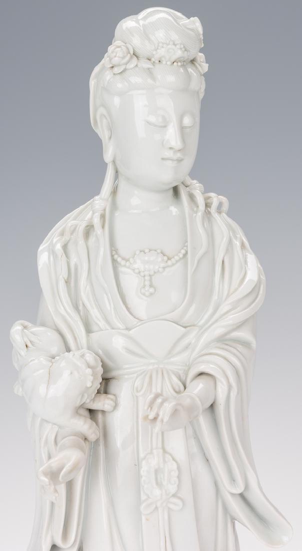 Blanc de Chine Porcelain Quan Yin Figure - 3