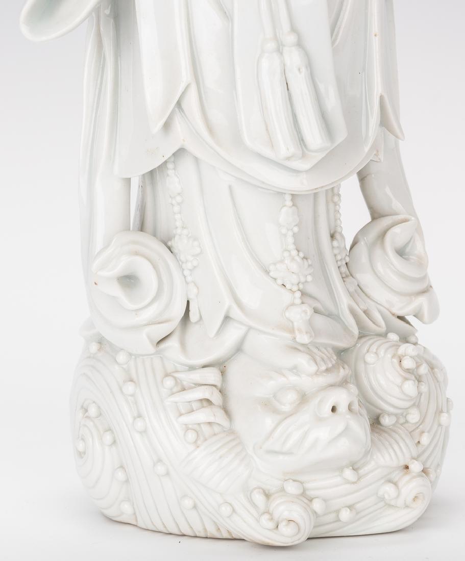 Blanc de Chine Porcelain Quan Yin Figure - 6