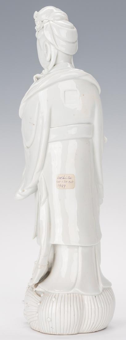 Blanc de Chine Porcelain Quan Yin Figure - 8