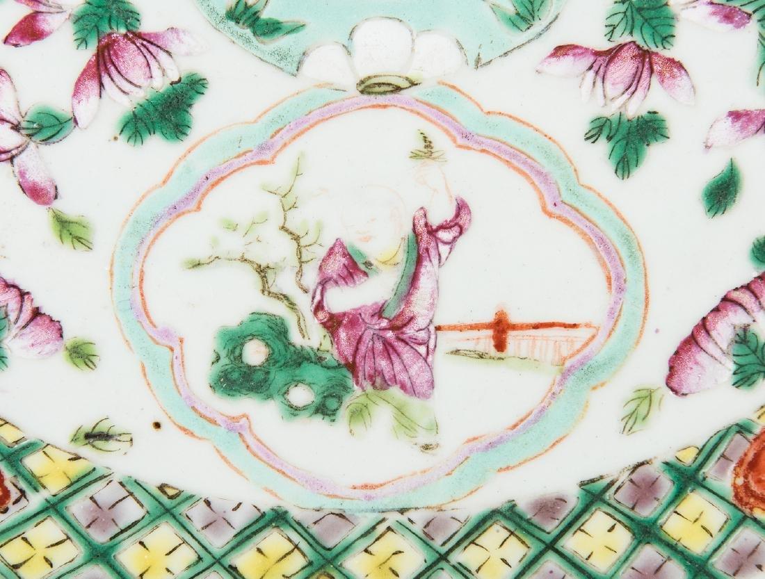 Chinese Famille Rose Porcelain Garden Seat - 8