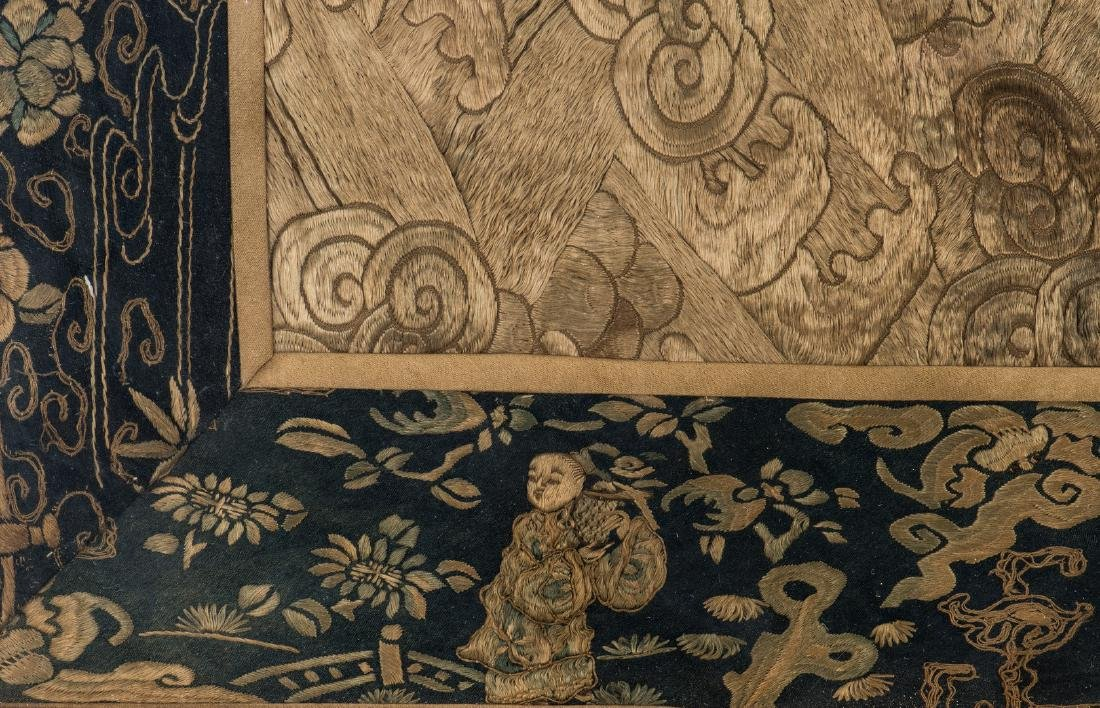 Chinese Qing Silk Embroidery - 10