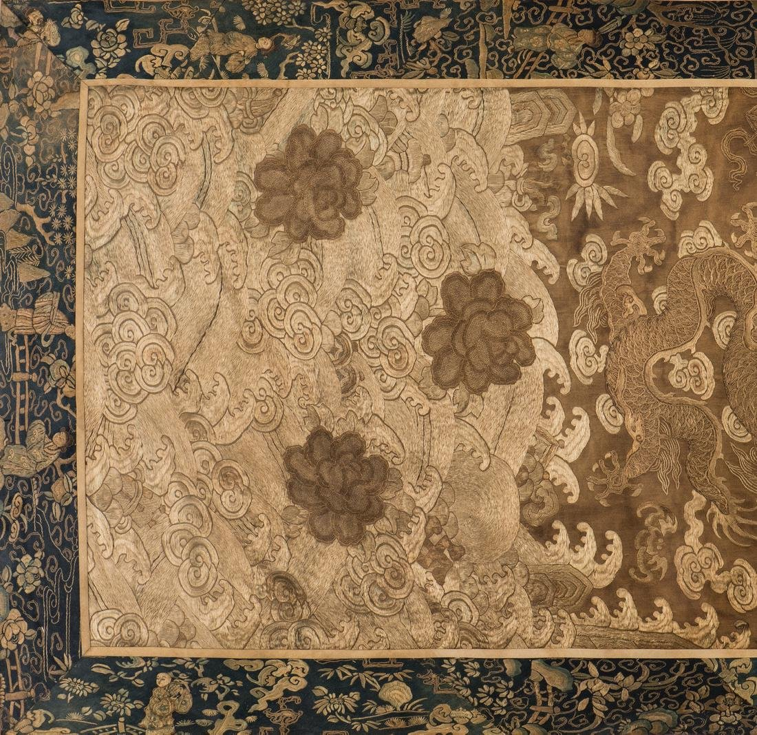 Chinese Qing Silk Embroidery - 3