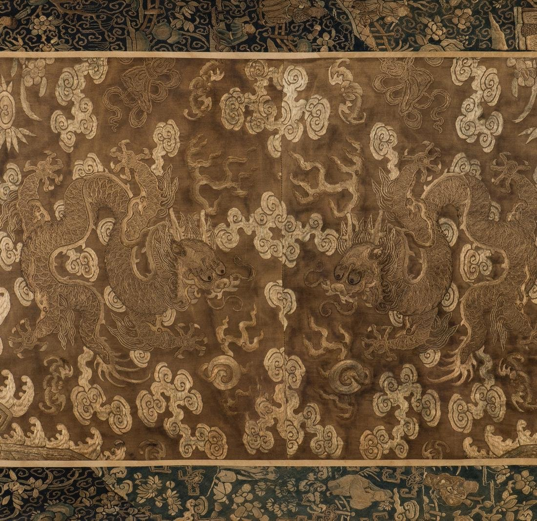Chinese Qing Silk Embroidery - 4