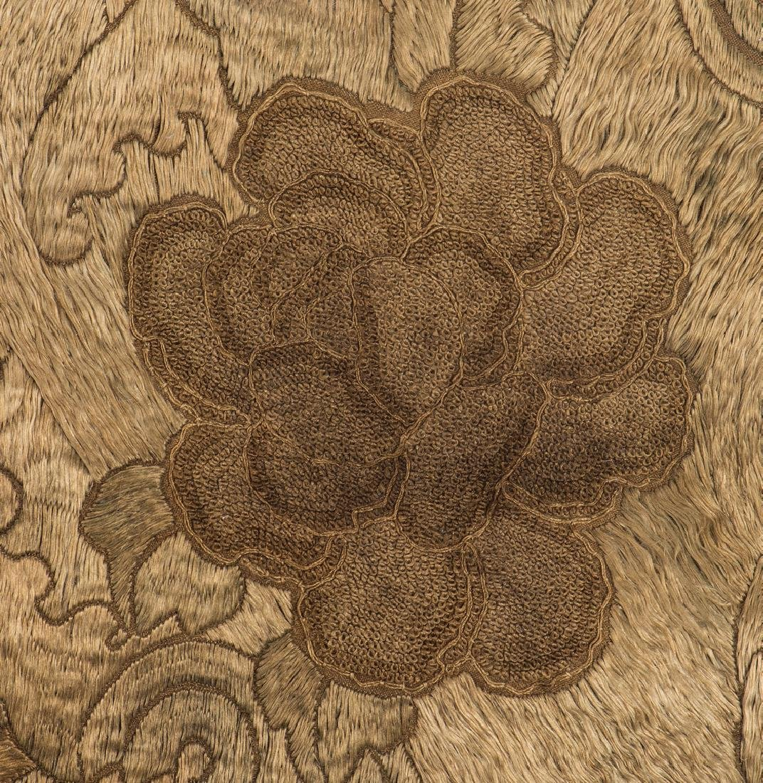 Chinese Qing Silk Embroidery - 8