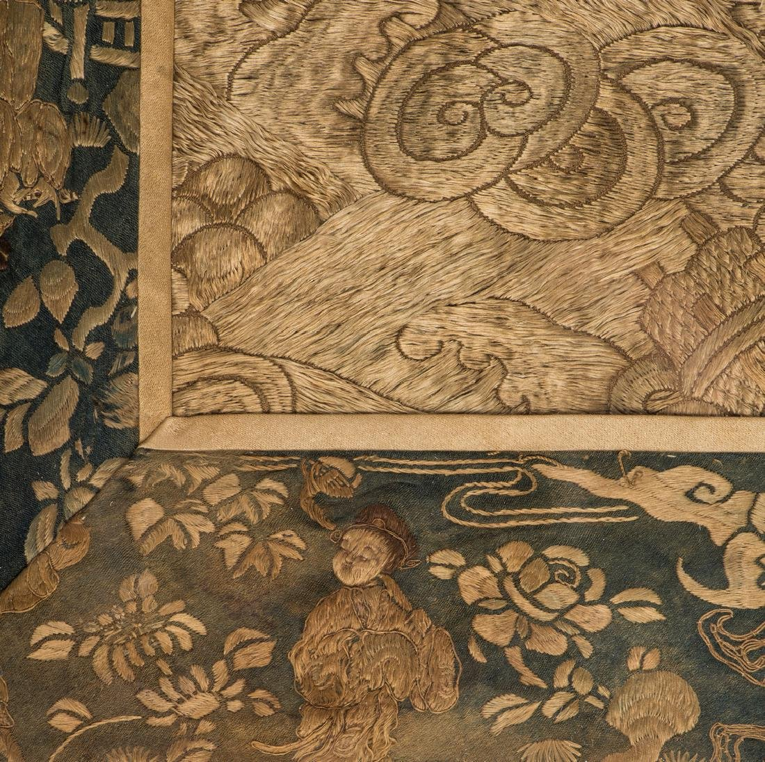 Chinese Qing Silk Embroidery - 9