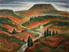 Frank W Long OC Berea KY Landscape