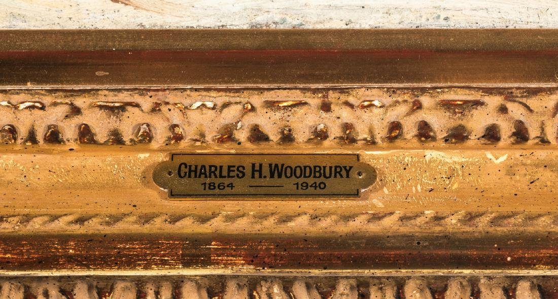 Charles Woodbury O/C, Ogunquit Bath House - 9