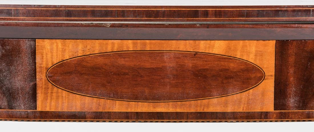 Federal Inlaid Game Table, Seymour School - 6