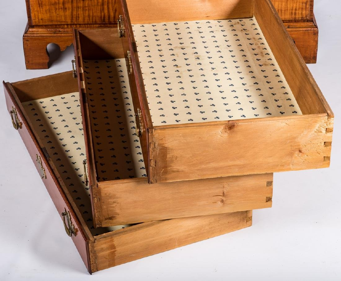 Tiger Maple Chest on Chest, NH Provenance - 10