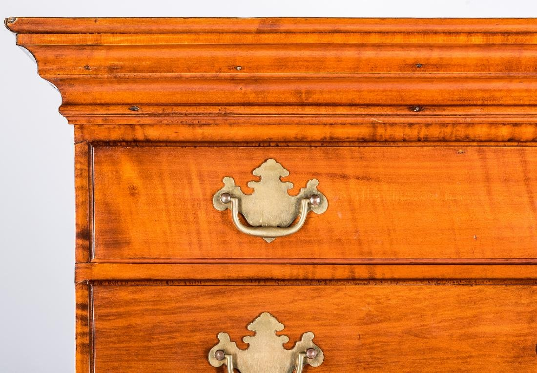 Tiger Maple Chest on Chest, NH Provenance - 6