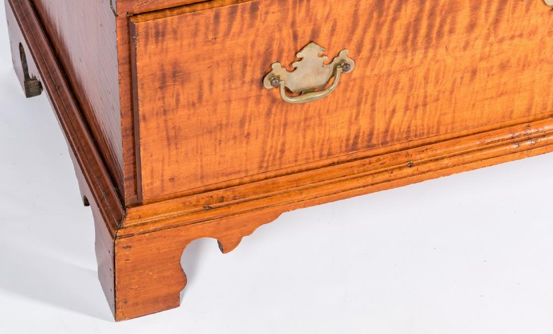 Tiger Maple Chest on Chest, NH Provenance - 8