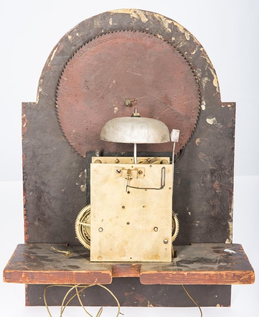 Soloman Parke Federal Inlaid Tall Clock - 10