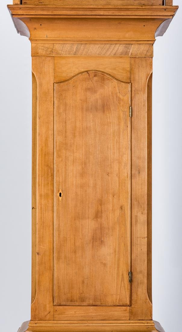 Soloman Parke Federal Inlaid Tall Clock - 4