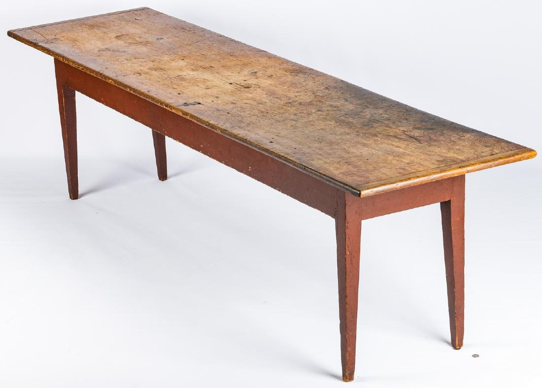 Mid-Atlantic or Southern Harvest Table