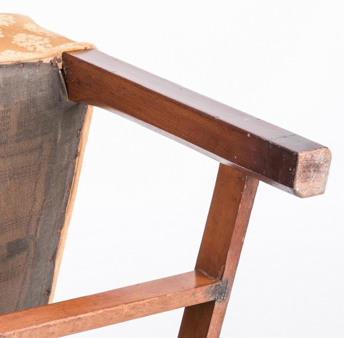 Chair with Mount Vernon History - 12