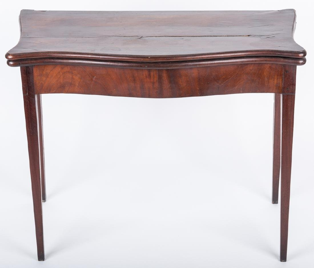 Federal Game Table, John Marshall History - 2