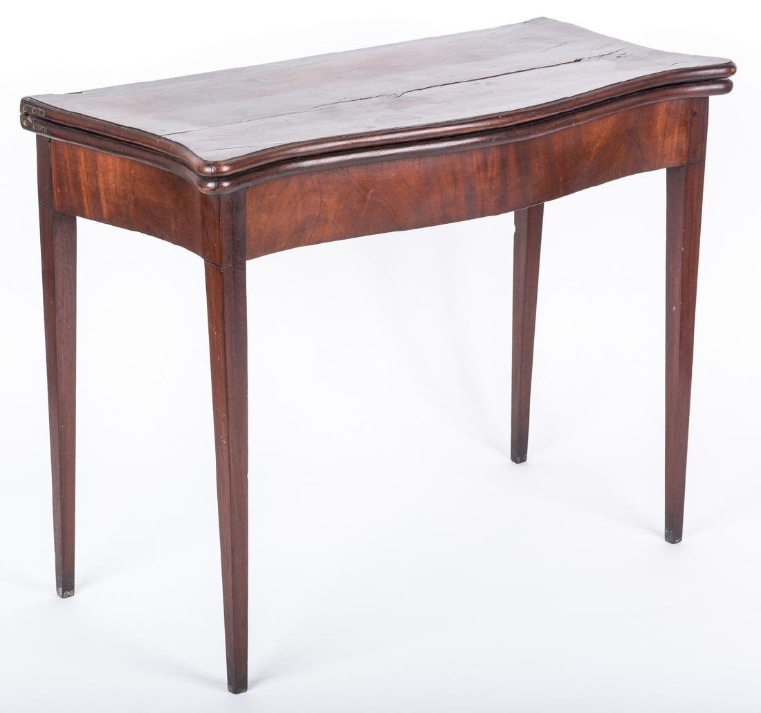 Federal Game Table, John Marshall History - 3
