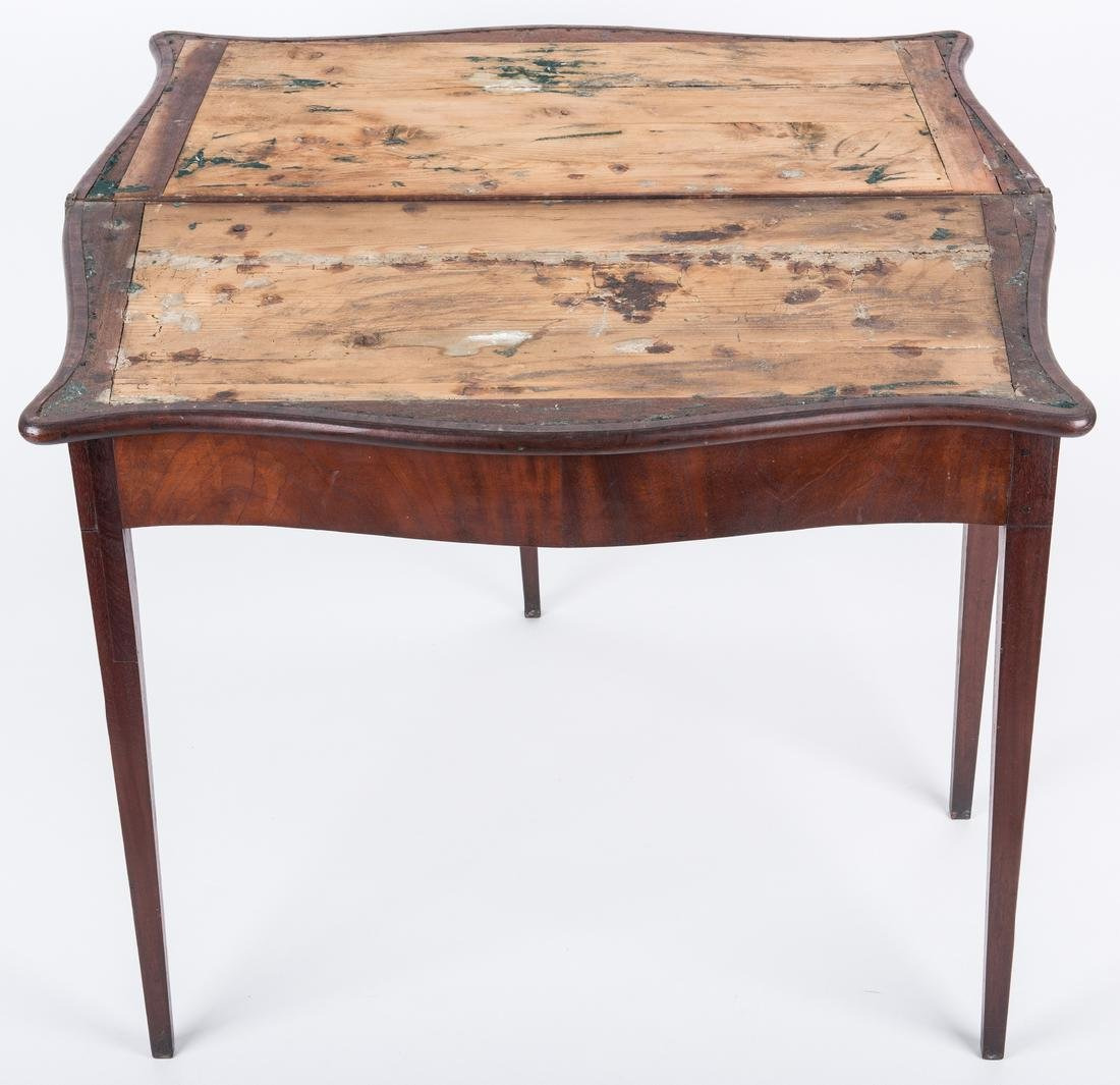 Federal Game Table, John Marshall History - 6