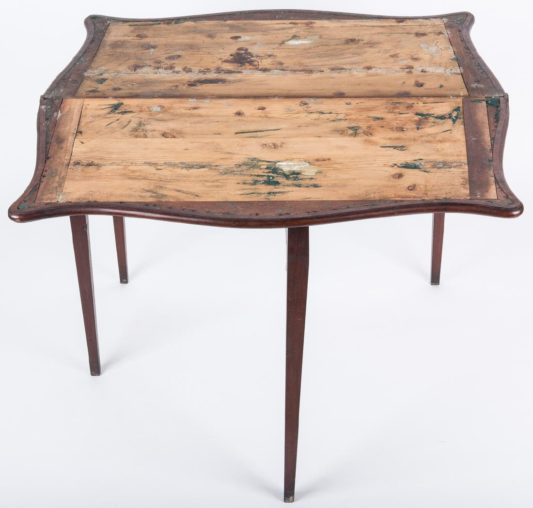 Federal Game Table, John Marshall History - 9