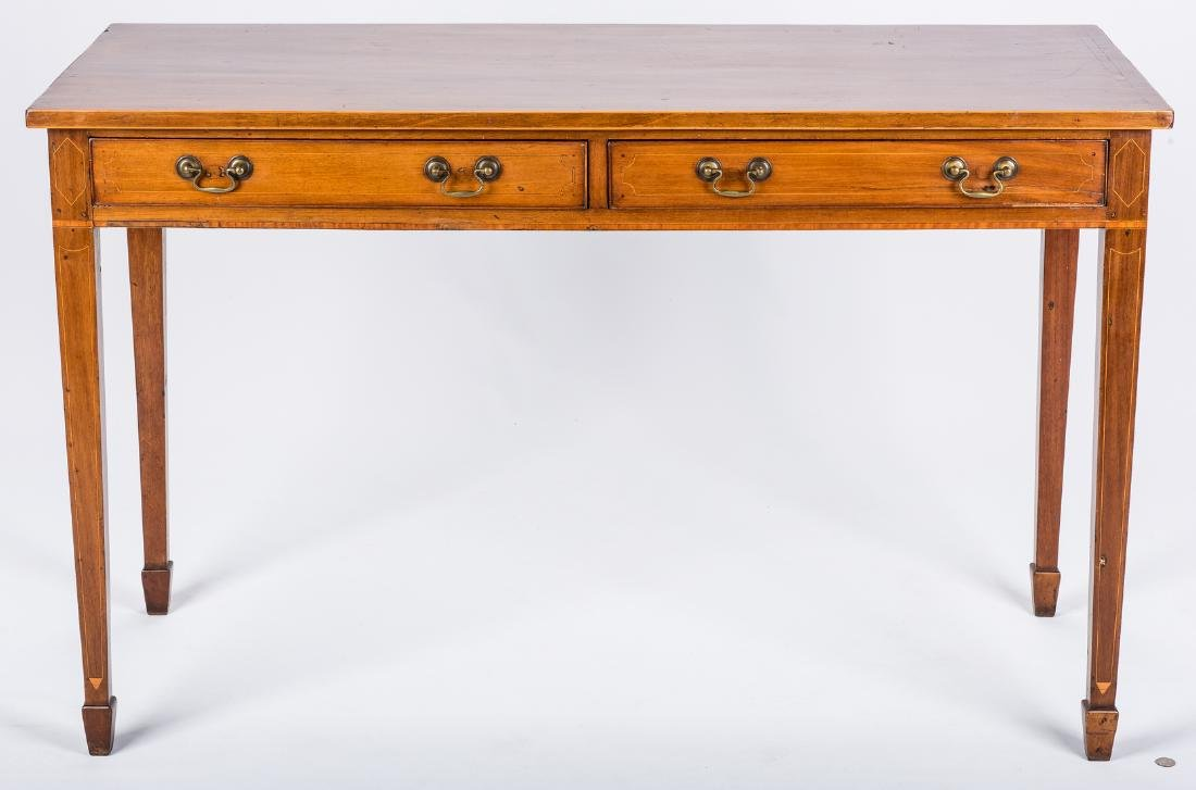 Inlaid sideboard table, circa 1800