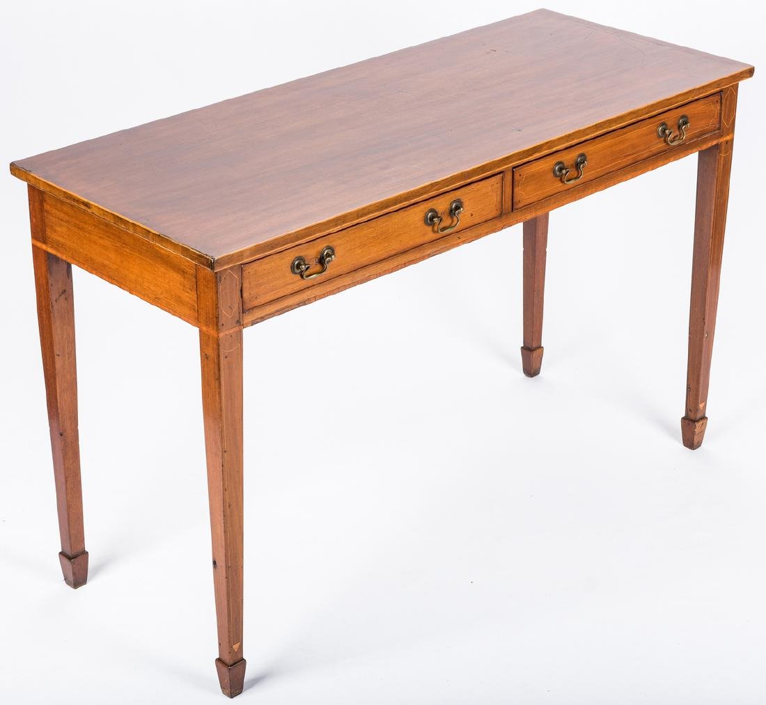Inlaid sideboard table, circa 1800 - 2