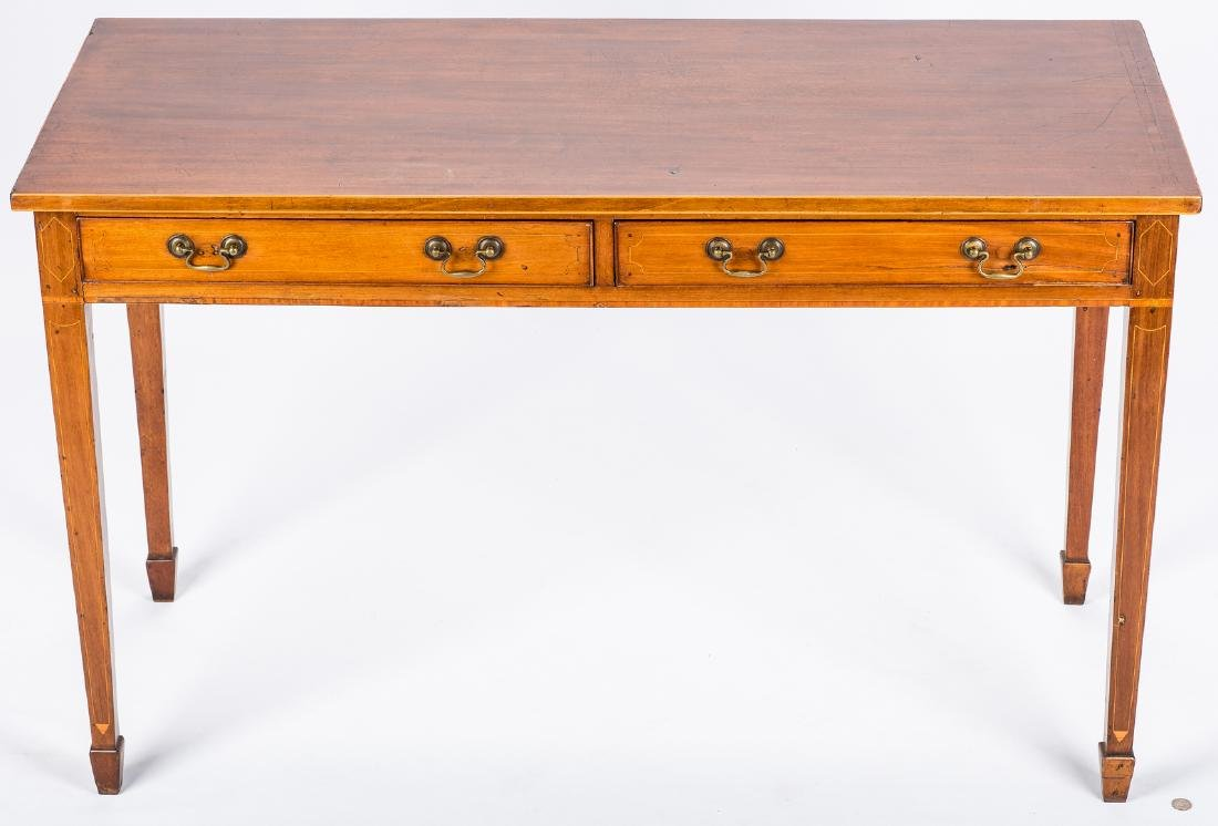Inlaid sideboard table, circa 1800 - 3