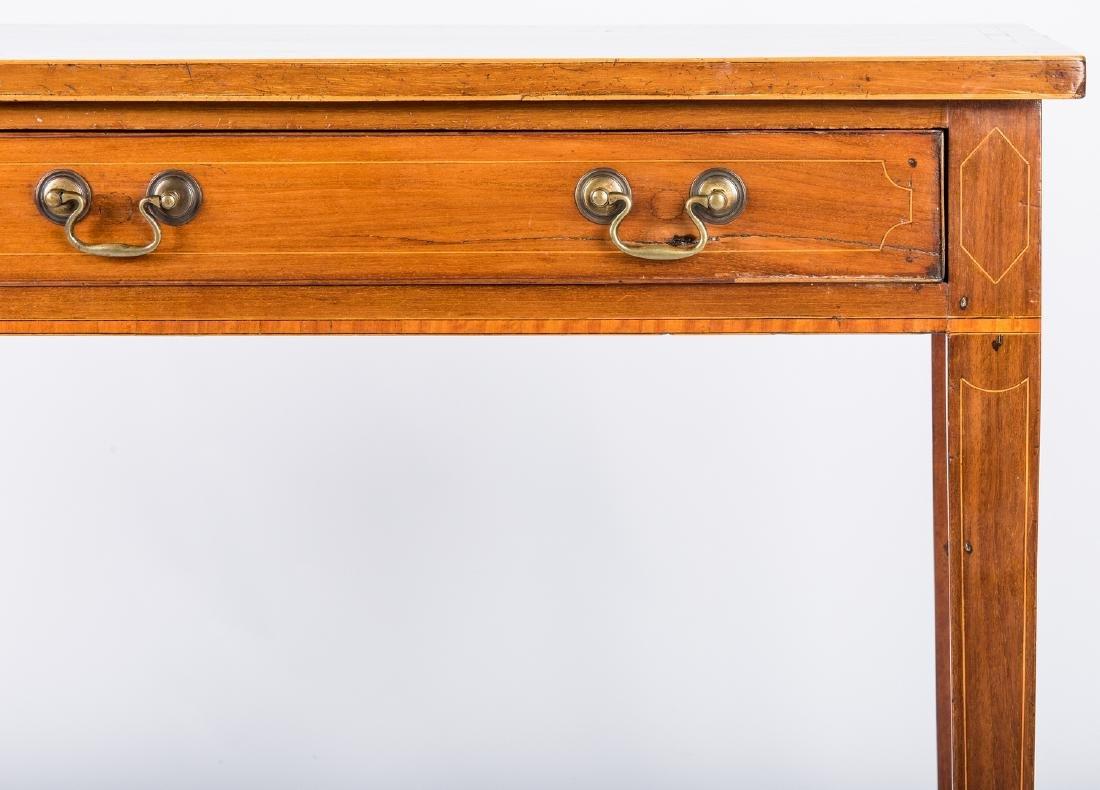 Inlaid sideboard table, circa 1800 - 6