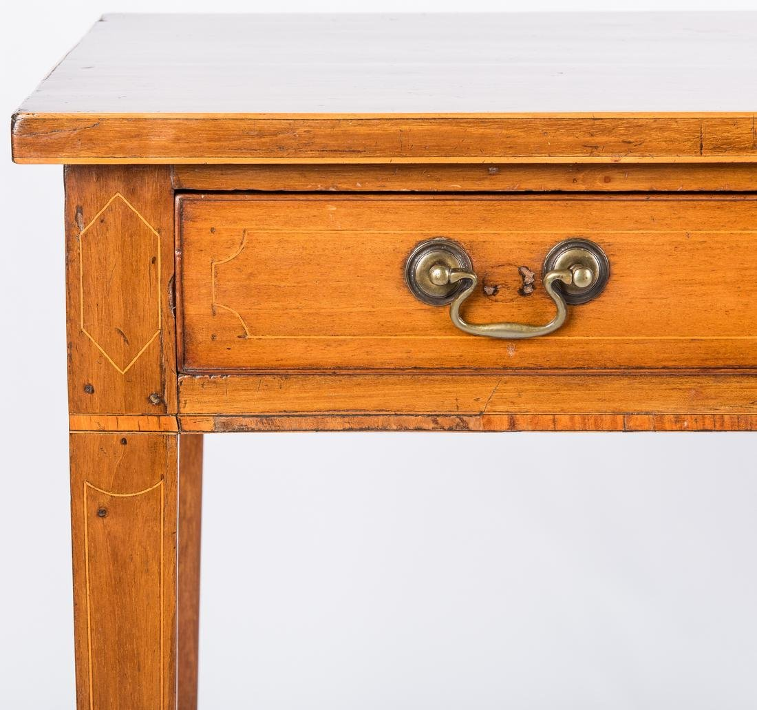 Inlaid sideboard table, circa 1800 - 7