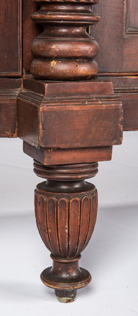 Signed East TN Late Classical Mahogany Sideboard - 9