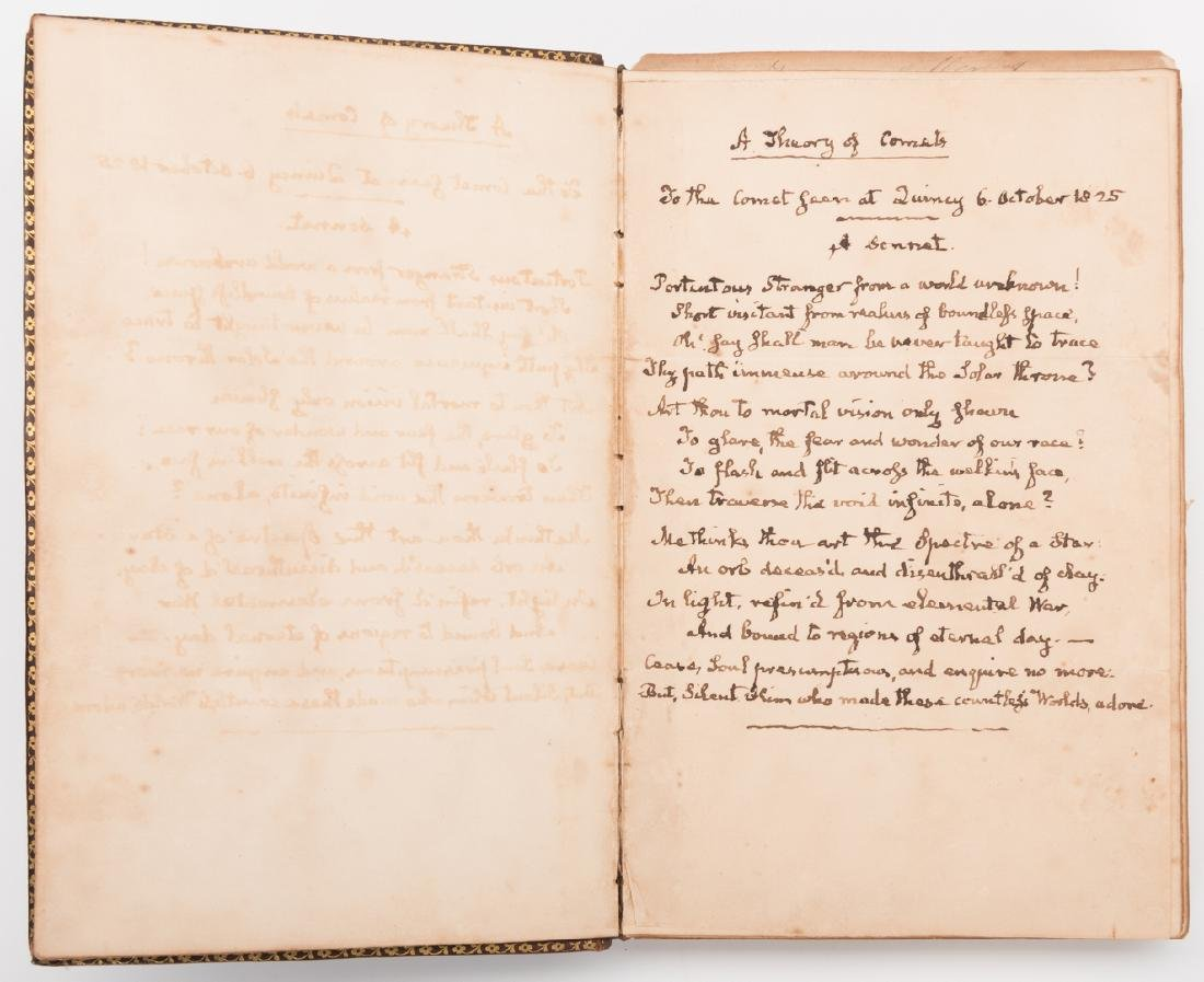 John Q. Adams Handwritten Poem in Album - 3