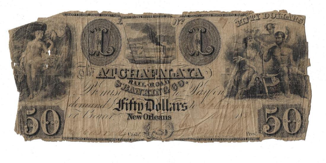 Justice John Marshall Railroad Stock Certificate, - 6