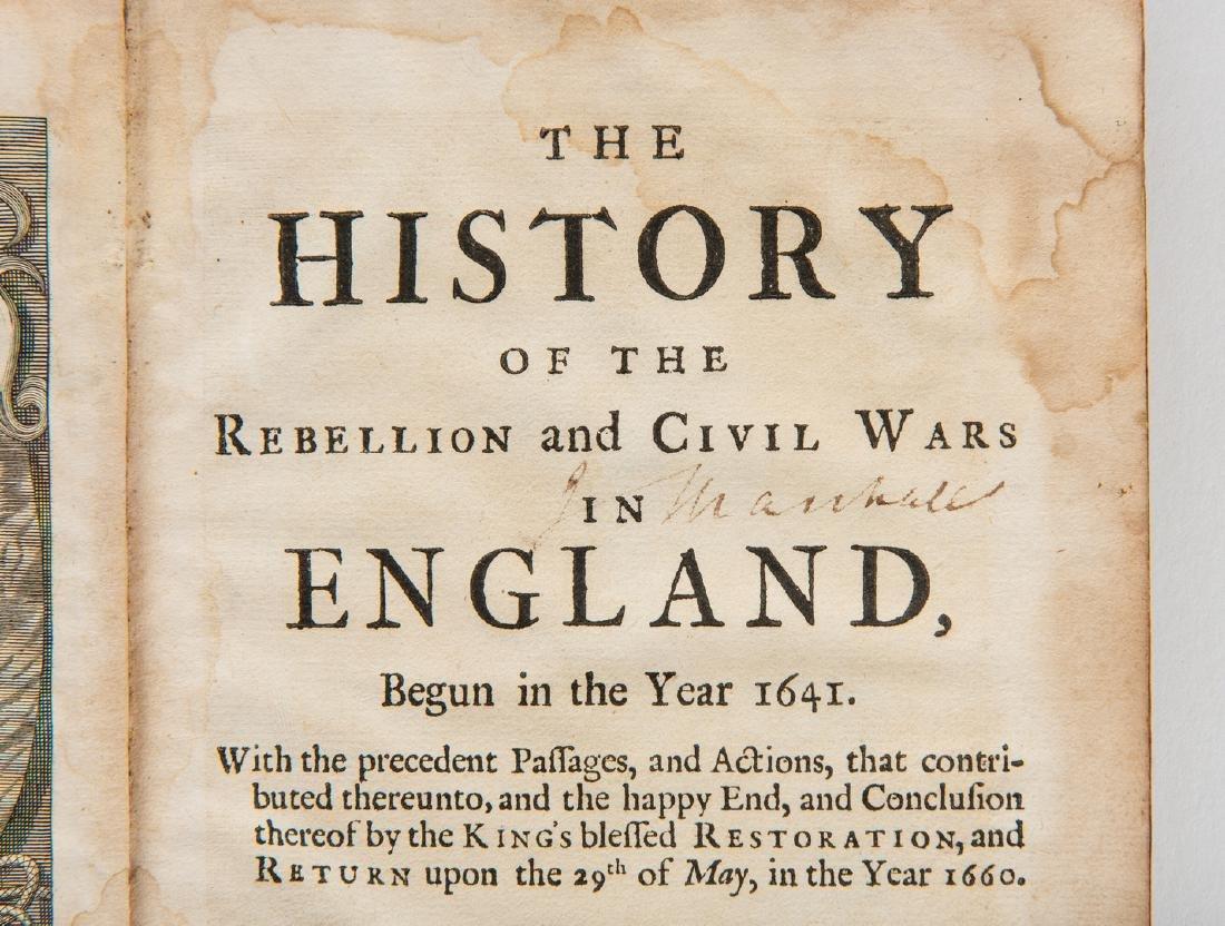 4 John Marshall books, inc. 3 signed - 4