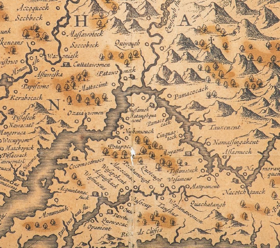 Hondius Map of VA - Nova Virginiae Tabula, 1636-1641 - 10