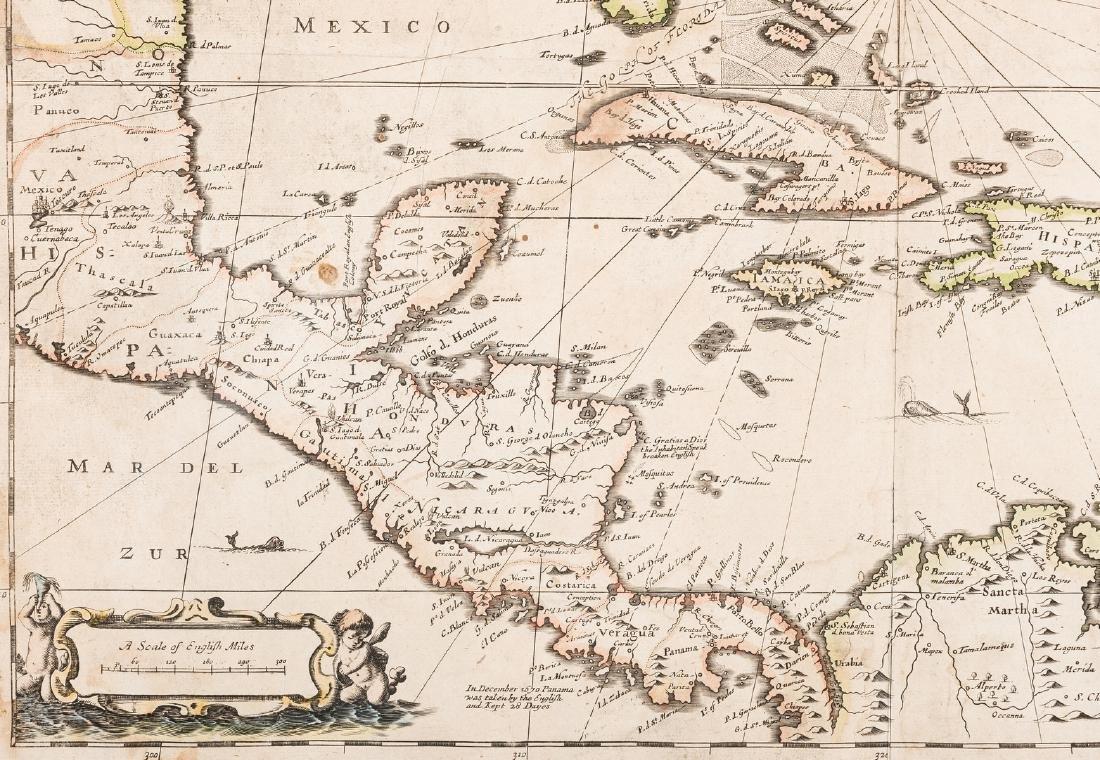 Morden 1673 Virginia Map of English Plantations - 6