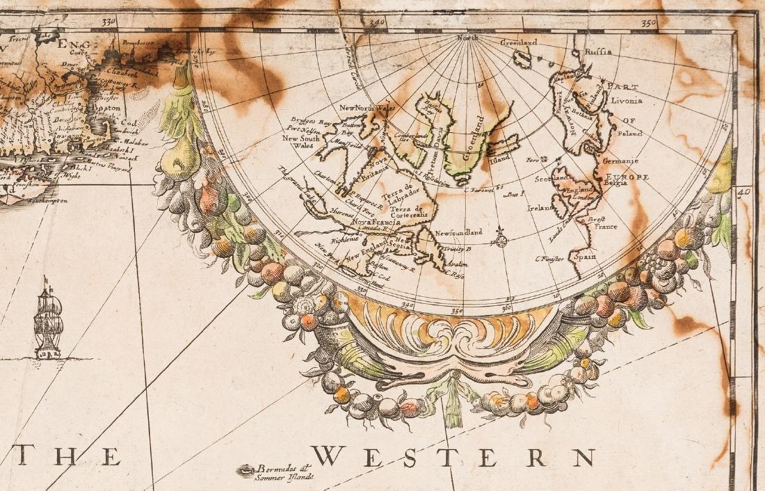 Morden 1673 Virginia Map of English Plantations - 8