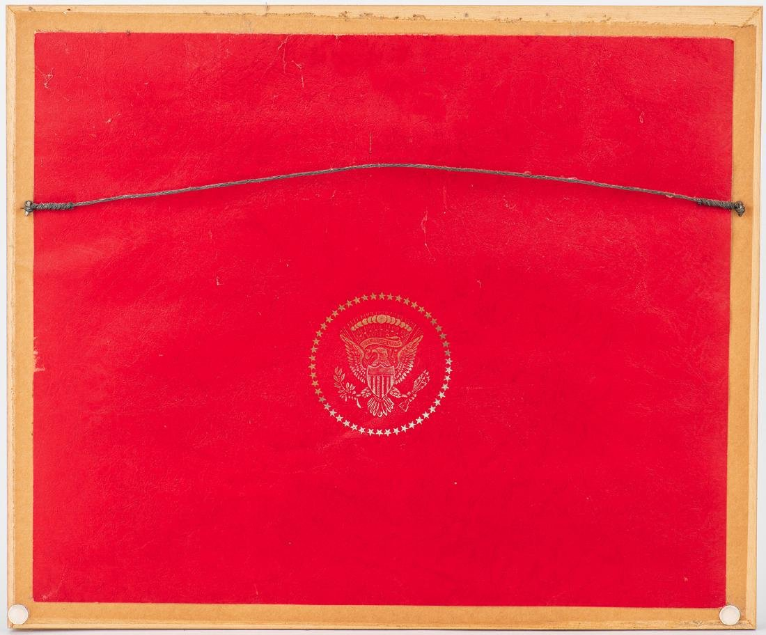 3 John F. Kennedy Christmas Cards & White House related - 6