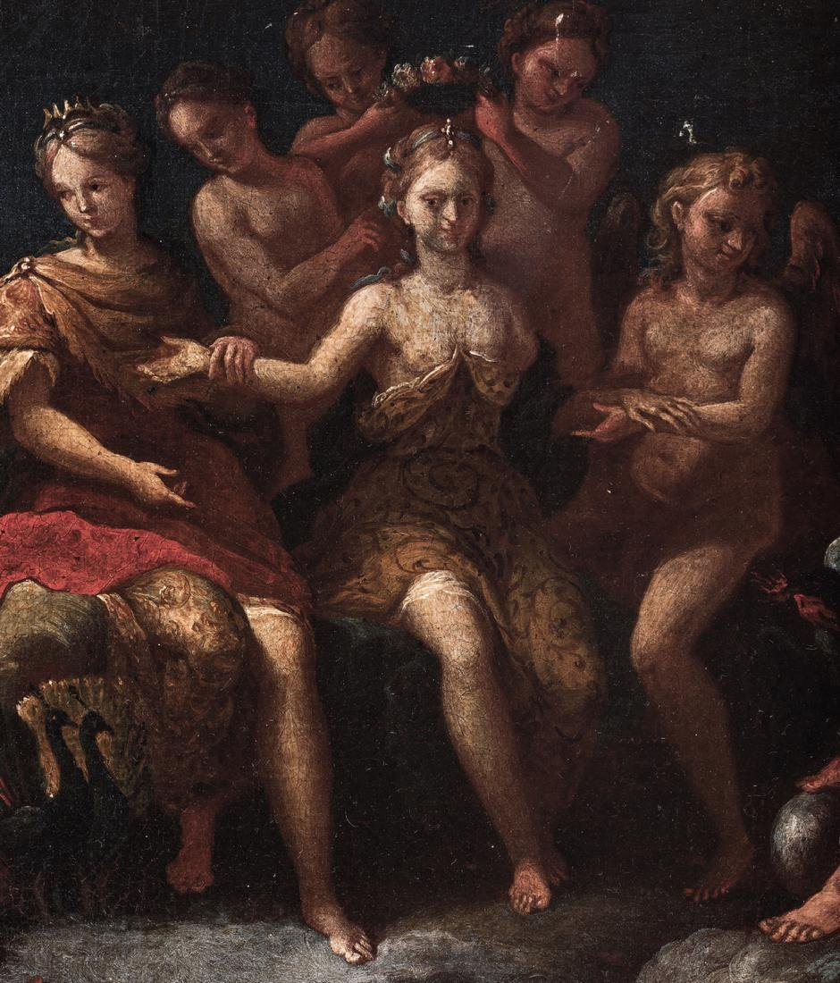 Old Master Mythological O/C, Crowning of Aphrodite - 7