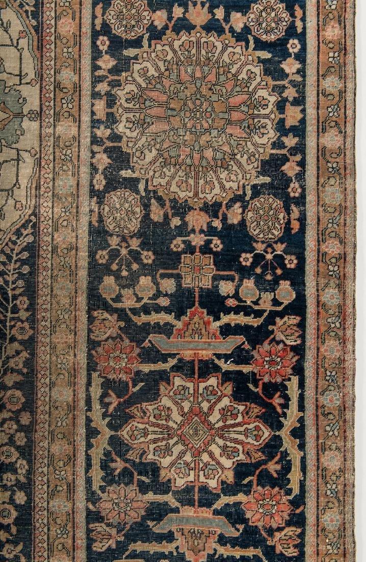 Antique Persian Mohtasham Kashan - 10