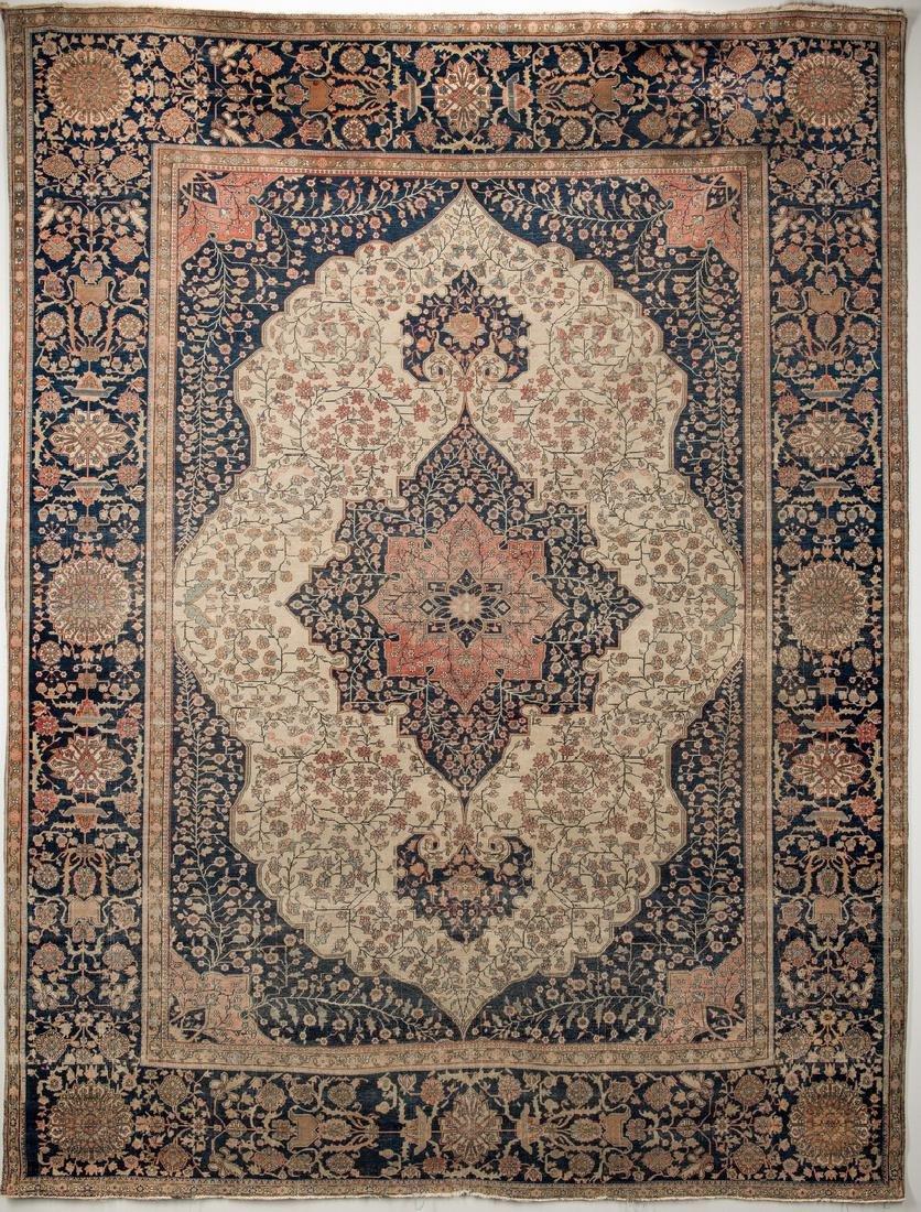 Antique Persian Mohtasham Kashan
