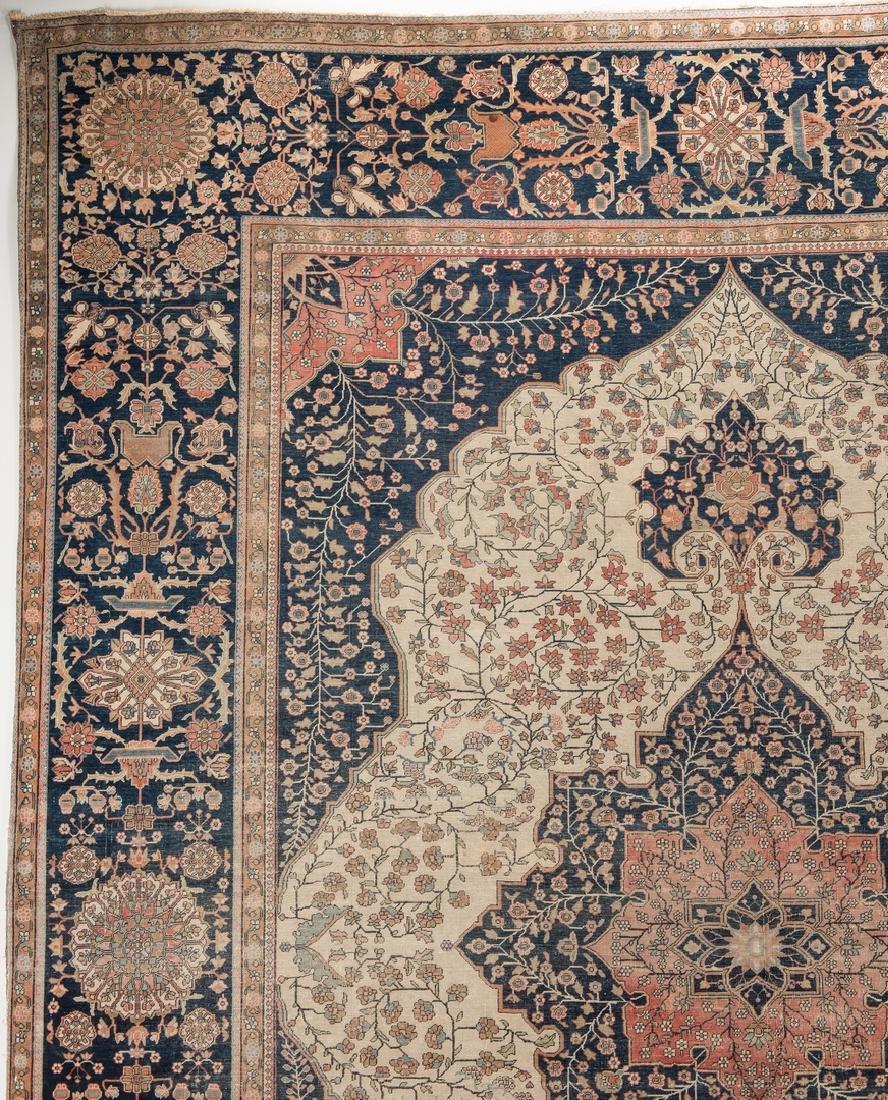 Antique Persian Mohtasham Kashan - 2
