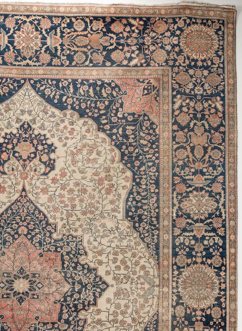 Antique Persian Mohtasham Kashan - 3