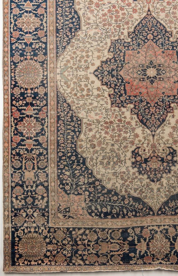 Antique Persian Mohtasham Kashan - 4