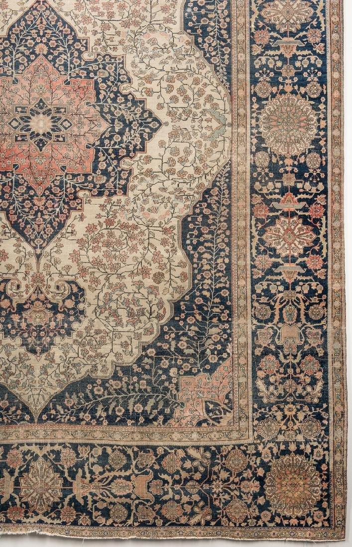 Antique Persian Mohtasham Kashan - 5