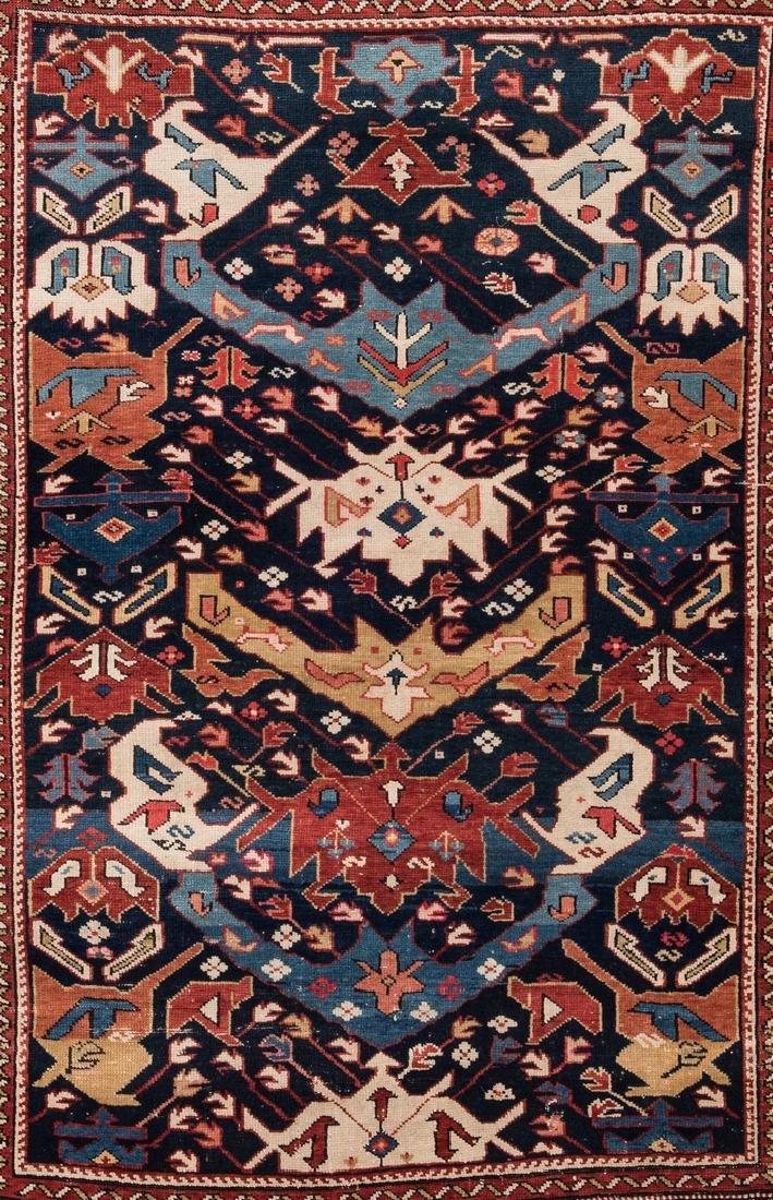 Antique Bidjov rug, Northeast Caucasus - 2