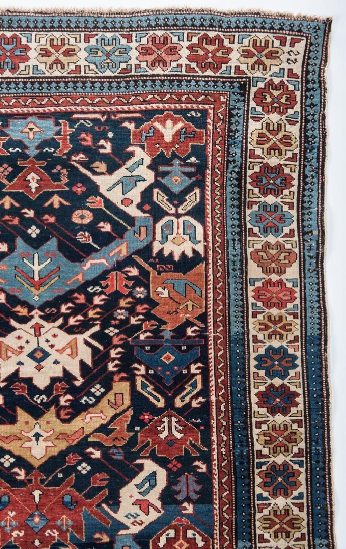 Antique Bidjov rug, Northeast Caucasus - 4