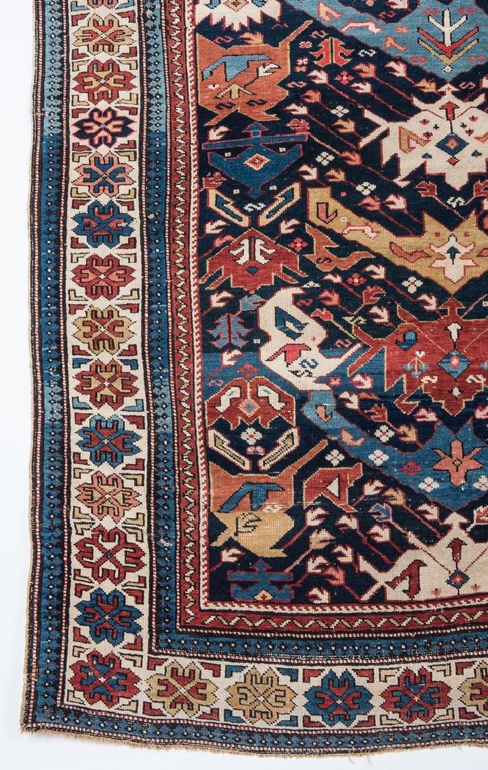 Antique Bidjov rug, Northeast Caucasus - 5