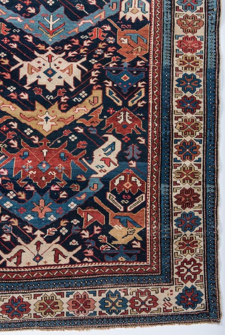 Antique Bidjov rug, Northeast Caucasus - 6